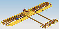 Name: WingConstruction-4.jpg Views: 46 Size: 260.4 KB Description: The wing with the tail booms ant the horizontal stab are also built in the cad model. The vertical stabilizer seems too complicated to be built in CAD. I'll see how it goes when start building the plane in real.