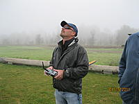Name: IMG_6495.jpg Views: 87 Size: 1.03 MB Description: Mark Hilliard on the sticks, Mark is the political force that made the connection with Yolo Co and got us permission to have a field at Grasslands Park.