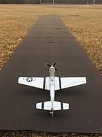 Name: P-51D UMX-1.jpg Views: 24 Size: 269.0 KB Description: E-Flite P-51 BL on 2S  -  What a screamer! Much more structurally solid than any other Micro out there.