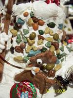 Name: 100_0445.jpg Views: 259 Size: 94.8 KB Description: Bullseye the Reindeer!! The chimney is covered in chocolate rocks!