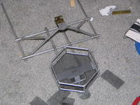 Name: 51.jpg Views: 182 Size: 134.1 KB Description: adding final paint and mesh to the basket.