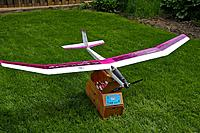 Name: IMG_7328 (1).jpg Views: 112 Size: 158.7 KB Description: My first electric sailplane, a 2M Aspire with a 550 brushed motor.