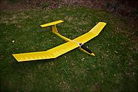 Name: IMG_9399 (1).jpg Views: 116 Size: 136.9 KB Description: A picture of my re-built 2M Sophisticated Lady sailplane before its untimely demise.