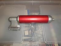 Name: SAM_4642.jpg Views: 10 Size: 974.3 KB Description: Custom tuned muffler from Dub Jett, see post for web page.