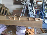 Name: IMG_2118.jpg Views: 10 Size: 1.67 MB Description: Chuck is already built the box for the boat and assembled some of the whole. Basically what you see is what I got