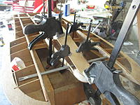 Name: IMG_2141.jpg Views: 6 Size: 1.79 MB Description: Cemented plywood down for the top