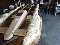 Name: IMG_2157.jpg Views: 7 Size: 1.67 MB Description: Now I've made a decision on the battery holes tomorrow I will draw a couple of holes for the pipes for the exhaust of the water and cement the decks on