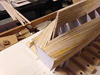 Name: IMG_1970.JPG Views: 39 Size: 1.54 MB Description: Rough first trim of planking and form 27.