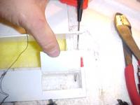 Name: MVC-RW71.jpg Views: 3055 Size: 21.2 KB Description: Poke it through the foam into the electronics bay.