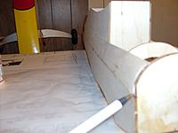 Name: HPIM1472.jpg Views: 51 Size: 235.0 KB Description: not a great picture but there is a small gap in the firewall/fuse side.....i'll just fill this in with scrap when i get ready to start the sanding