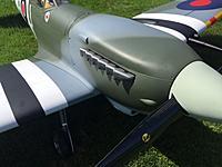 Name: MK2.JPG Views: 8 Size: 80.0 KB Description: TopRC Spitfire nose with Merlin fishtail stubs.