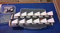 Name: Snmek12601.jpg Views: 7 Size: 177.8 KB Description: 1/4 scale Merlin stacks for CY Spitfire.