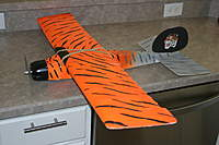 Name: IMG_9268.jpg Views: 260 Size: 60.2 KB Description: GWS Slow-F with modded wing. Has ailerons and flies great. Ready to Fly with 72mhz RX in it. Just add battery and TX