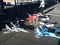 Name: Fltline.jpg Views: 121 Size: 164.8 KB Description: My EDF's on our unofficial Jet Day