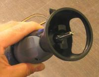 Name: thorn6.jpg Views: 248 Size: 37.0 KB Description: Dremel with the depth attachment and router bit...