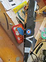 Name: IMG_3587.jpg Views: 32 Size: 217.3 KB Description: the roundels are just hand painted and the big V is just a squadron marking and the first letter in Valerie, my wife