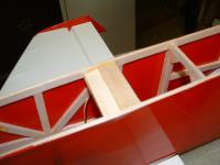 """Name: 100_FUJI-DSCF0035_DSCF0035.jpg Views: 249 Size: 44.3 KB Description: A second piece of light ply is glued on top of the first. A balsa 1/8"""" by 1/2"""" is added behind to accept 1/16"""" sheeting"""