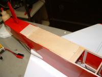 """Name: 100_FUJI-DSCF0036_DSCF0036.jpg Views: 223 Size: 60.3 KB Description: A 1/8"""" thick plywood was cut as a battery mounting board an to add weight."""