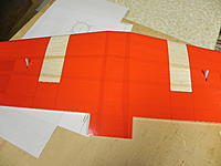 Name: DSCN1081.jpg Views: 47 Size: 138.4 KB Description: Wing bottom covered. nacelle positions are left bare.