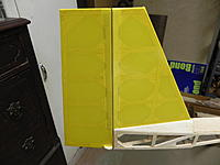 Name: DSCN1428.jpg Views: 47 Size: 110.6 KB Description: The crack covering tape was applied. Blenderm hinge tape on other side.