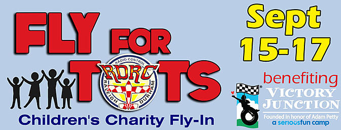RDRC Fly for Tots Charity Fly-In - Coming Soon!