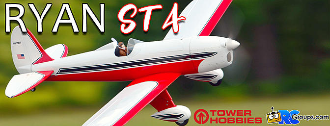 Tower Hobbies Ryan STA EP ARF - RCGroups Review