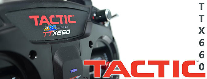 Tactic TTX660 Transmitter - RCGroups.com Review