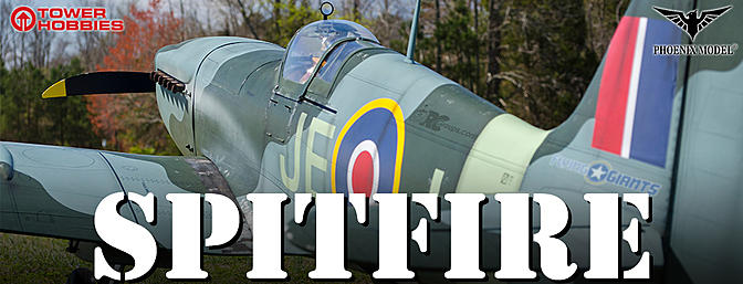 Phoenix Model 1:4 3/4 Spitfire 50-61cc Gas/EP ARF - RCGroups EXCLUSIVE Review