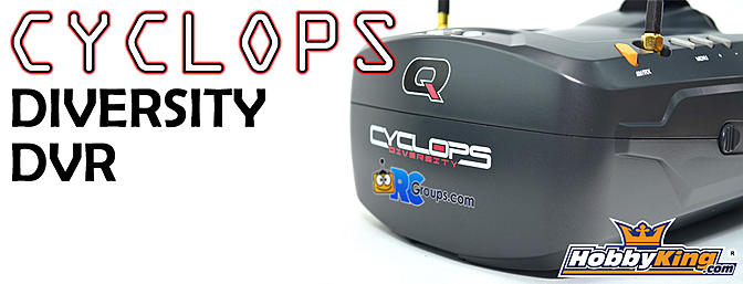 Quanum Cyclops Diversity DVR Goggle - RCGroups.com Review