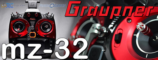 Graupner mz-32 - 32 Channel HoTT Telemetry Radio - RCGroups Review
