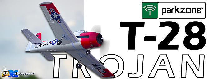 Parkzone T-28 Trojan 1.1m BNF Basic with AS3X and SS - RCGroups Review