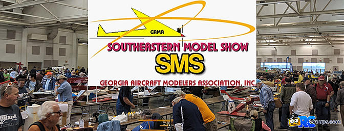 Southeastern Model Show - A First Timers Look