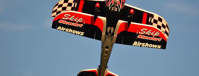 Skip Stewart Airshows...in yo' face!