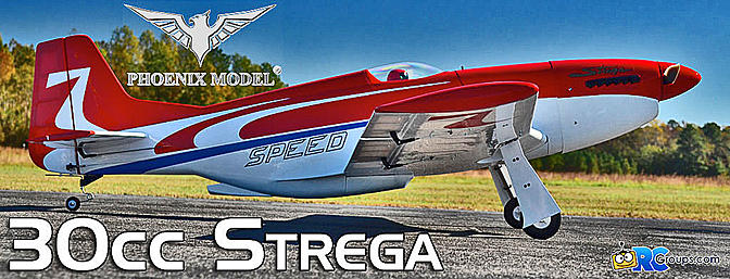 Phoenix Model Strega 30cc GP/EP ARF - RCGroups Review