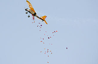 Several RC candy droppers also littered the runway