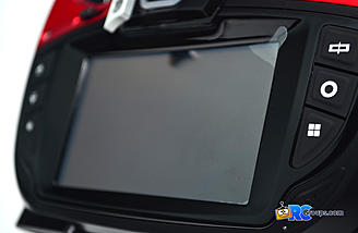 "The Graupner mz-32 sports a great looking 4.3"" color TFT touch screen."
