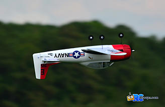 The Parkzone T-28 is a very nice sport aerobat.