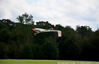 Horizon Hobby demoing their awesome 60cc XCub and ASH 31 electric glider.