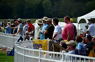 The noon demo crowds were considerably less than Nall, but still a good number of people that enjoyed the show.