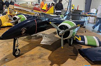 A pair of beautiful F-7F Tigercats up for sale.