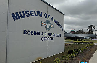The Warner Robbins AF Museum is only 20 minutes from Perry.