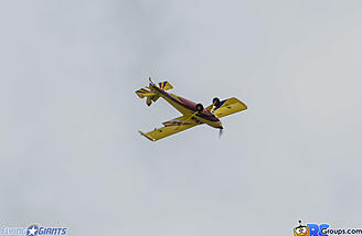 The Timber 110 shows it's aerobatic ability with this inverted spin.