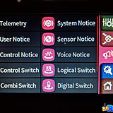 The Special tab will setup your switches, telemetry and voice notifications.