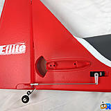 The tail of the Ultimate 3D with pre-installed rudder servo and linkages.