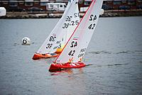 Name: 4.jpg Views: 272 Size: 114.7 KB Description: Two BritPoP's Red owned by Brad Gibson the Orange boat sailed by World Champion 2011 Peter Stollery.