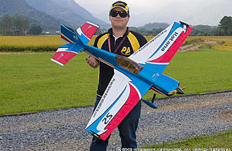 Daniel Dominguez (aerofundan) did part of the test flying down in Brazil!  Beautiful flying fields down there.