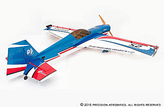 For maximum aerodynamics, the aileron design and construction in this model is exceptional, made in such a way that the hinge gap is completely sealed similar to full size high performance aerobatic planes.