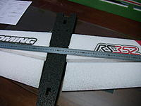 Name: IMG_0992.jpg Views: 820 Size: 176.0 KB Description: Now its time to cut the slot for the CF rod that goes on the bottom