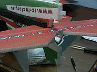 Name: IMG_1034.jpg Views: 789 Size: 167.2 KB Description: Now install the hinges for the rudder