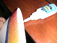 Name: IMG_1131.jpg Views: 202 Size: 220.1 KB Description: i used regular Medium CA on one side, then i applied kicker to the wing half